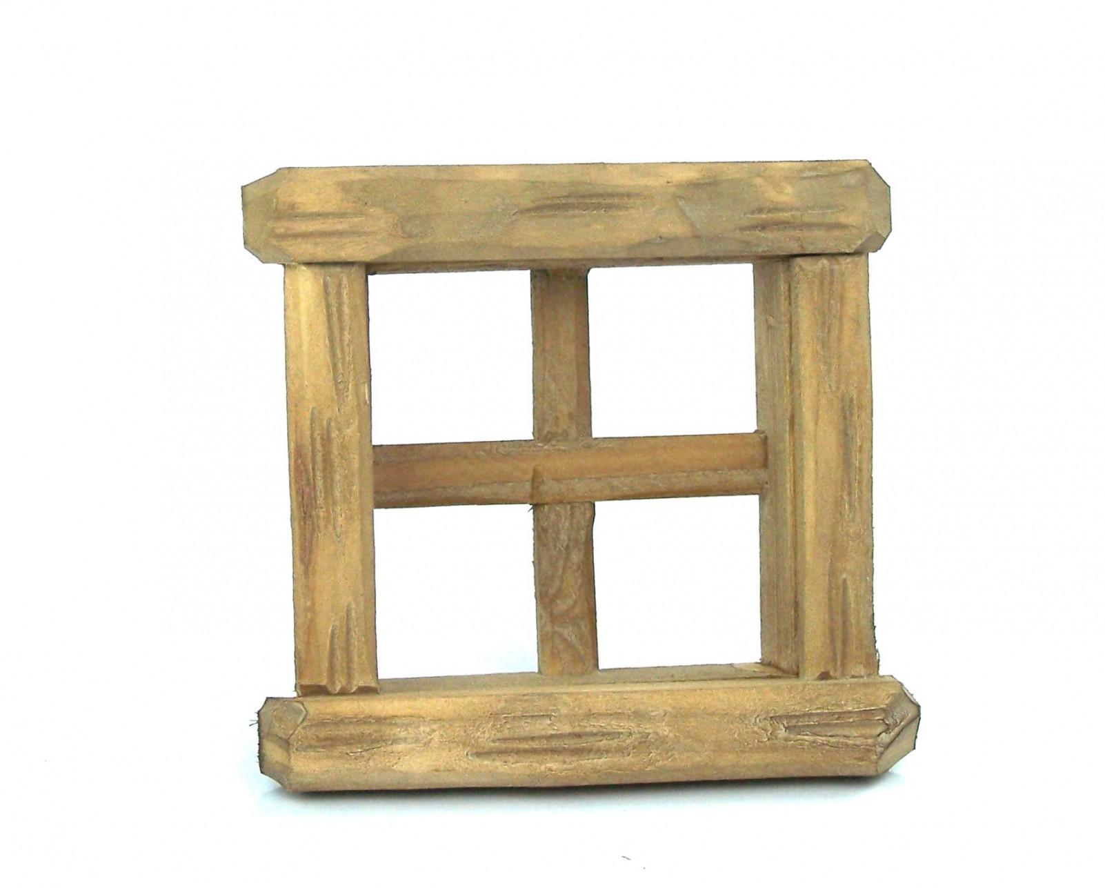 Fenster aus holz f r 6 5x6 5 cm fensterausschnitt for Fenster holz